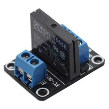 SunFounder 5V 1 Channel Solid State Relay Board for Arduino Uno Duemilanove MEGA2560 ARM
