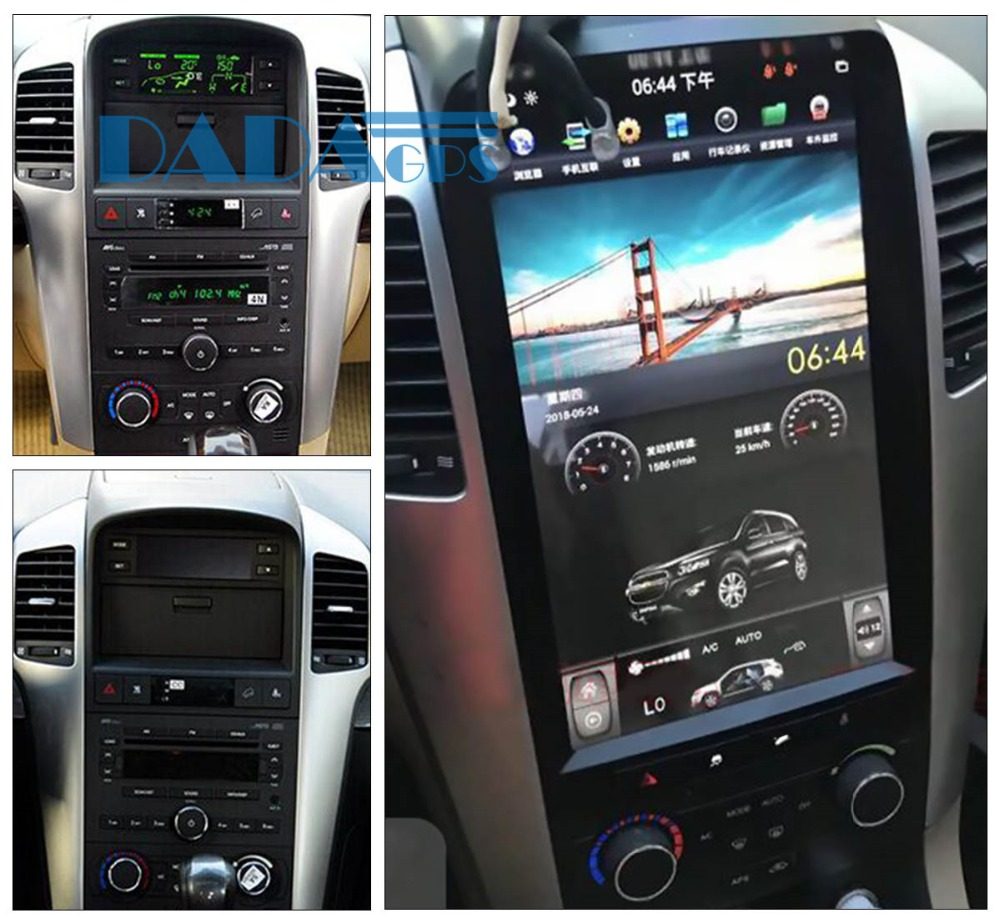 Tesla style Car Radio GPS Navigation For Chevrolet Captiva 2008 2009 2010 2011 2012 DVD 13