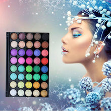 Massage Pearl Matte Flash Firming Palette Earth Warm Luminous Set Palette Cosmetics 40 Color(China)
