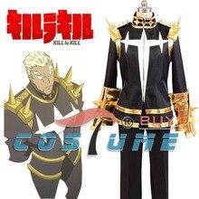 Убить ла убить Ира gamagoori конечной форме черный Форма Косплэй костюм