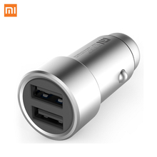 Xiaomi 5 โวลต์ 3.6A LED Fast Fast Charger สมาร์ทอุปกรณ์ Universal 2 Dual USB Car Charger สำหรับชายหญิง fast Car Charger