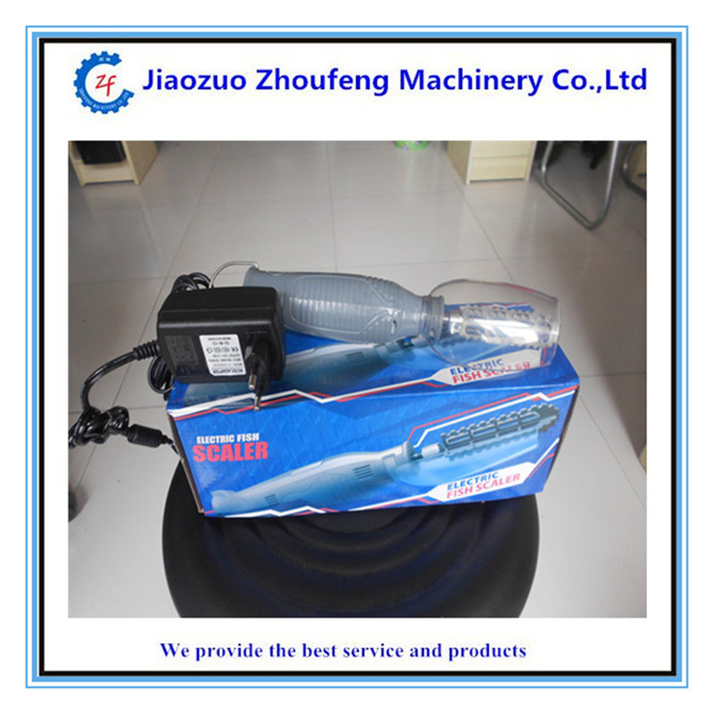 Small electric fish scaler for houshold manual   ZF