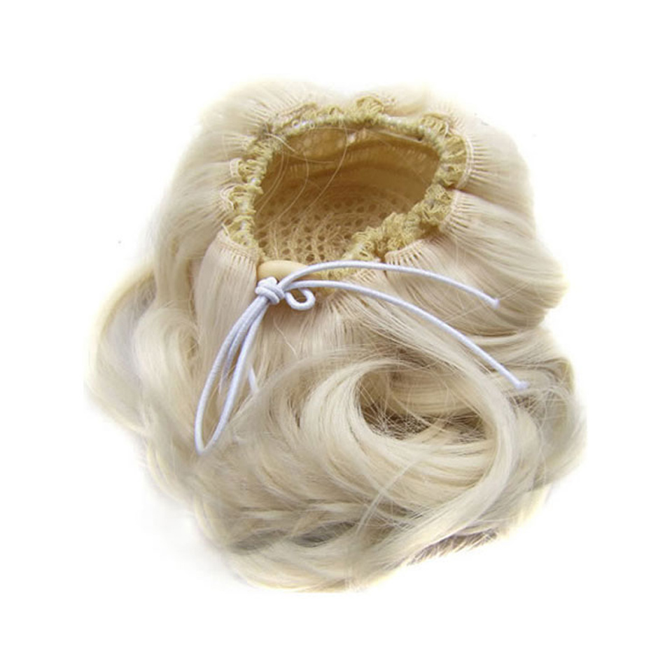 Fantasy Chignon Synthetic Hair Piece 1pc Fiber Hairpin High Temperature Fiber Hair Exten ...
