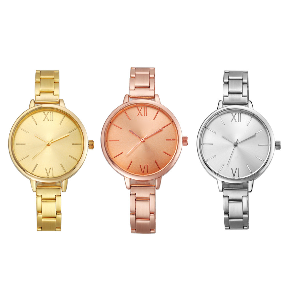 Relogio Feminino Women's Watch Geneva Fashion Women Small Steel Alloy Materials Band Analog Quartz Wrist Watch Watches,Sep 2 hot new fashion quartz watch women gift rainbow design leather band analog alloy quartz wrist watch clock relogio feminino