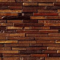 PVC Wallpaper 3D Stereo Relief Brick Wall Wood Grain Personality Wallpaper Living Room Cafe Restaurant Retro Papel De Parede 3 D