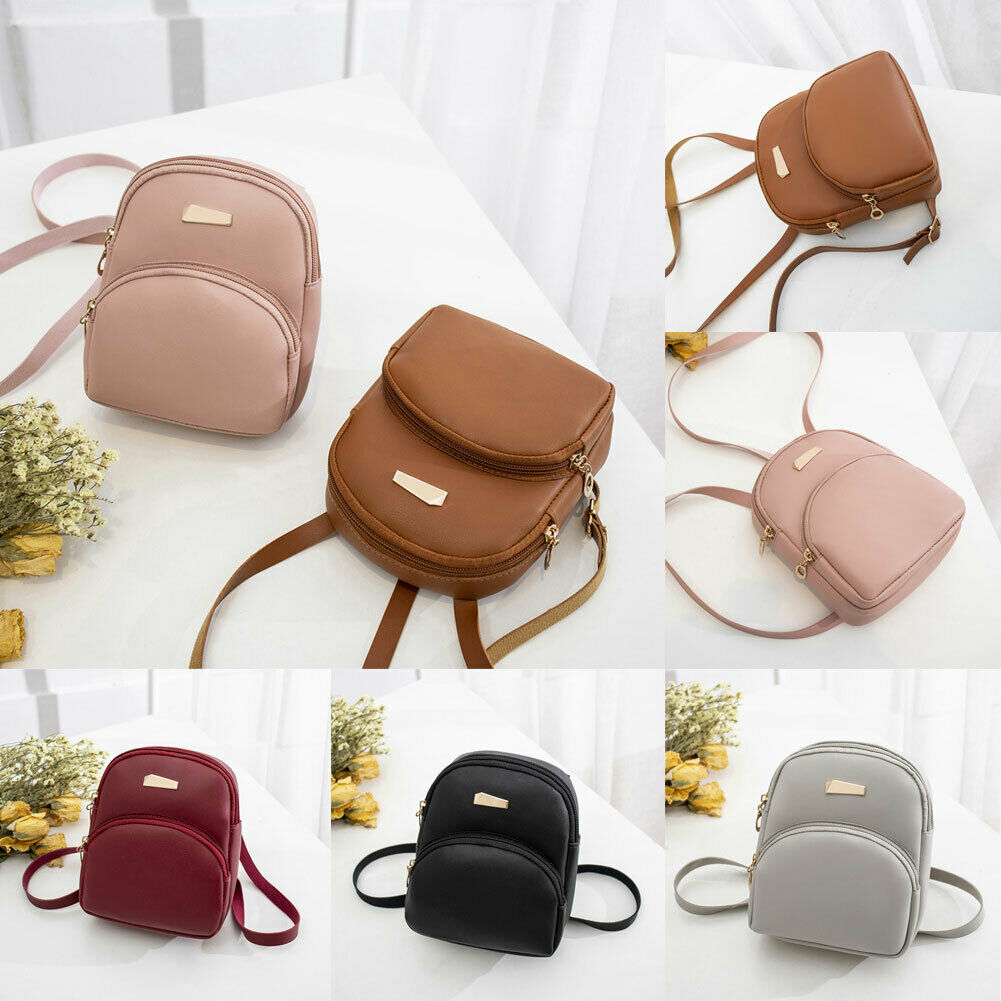 Fashion Women Mini Bags Backpack School Shoulder Bag Rucksack Leather Travel BagFashion Women Mini Bags Backpack School Shoulder Bag Rucksack Leather Travel Bag