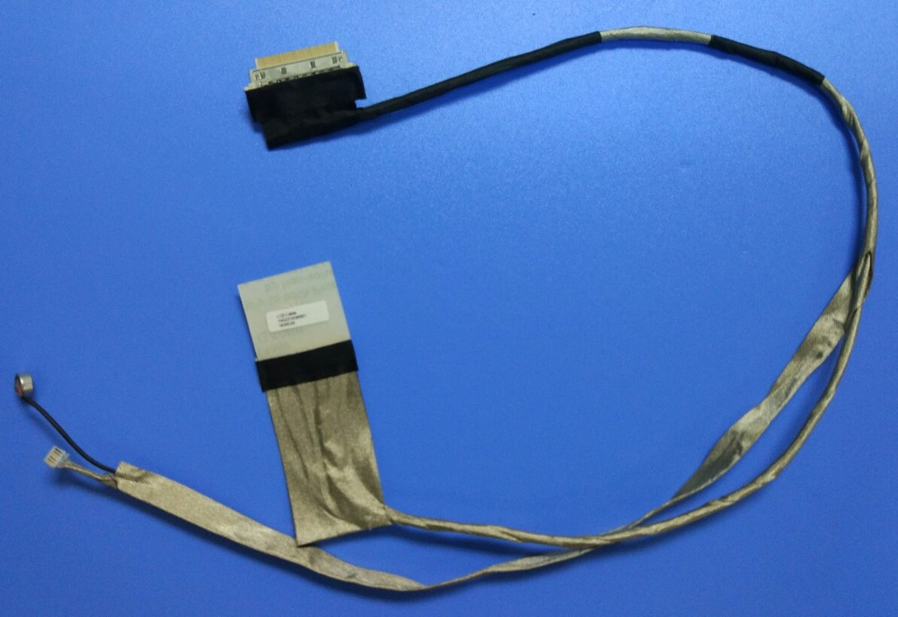 NEW Second Model Laptop Video Cable ASUS K53S A53E A53S E X53SJ X53SV P/N 14G221036001 Free shipping ...