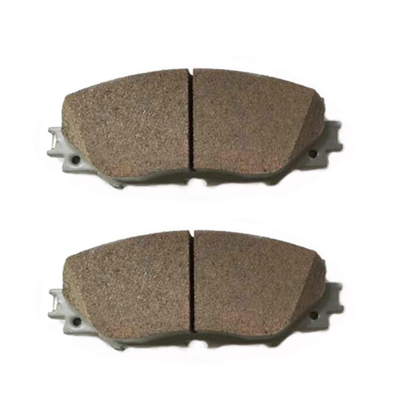 Front Disc Rotors /& Semi-Metallic Brake Pads Fits Lexus Toyota CT200h Prius