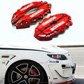 4x personaliza Carro brake caliper kit capa para Mazda 3 Axela 6 Atenza styling decoração kit de multi-cor 4 pçs/lote frete