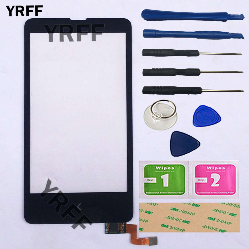 Mobile Touch Screen For Nokia X Dual SIM RM-980 A110 Touch Screen Digitizer Front Glass Sensor Panel Touchscreen Repair Tools