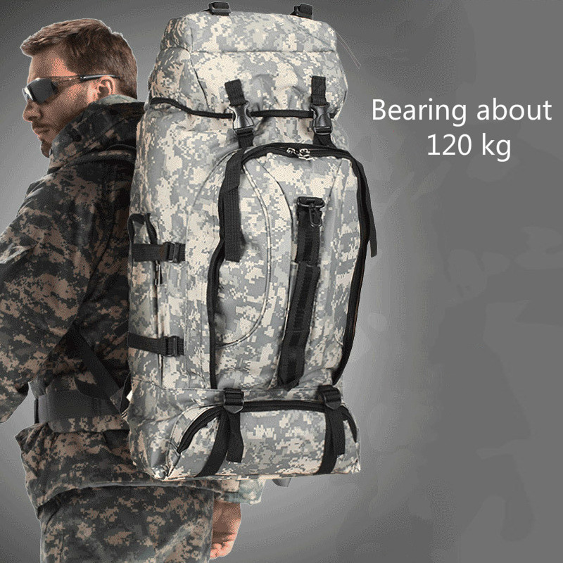 90L Nylon Waterproof Tactical Backpack Tactical Bag Outdoor Military Backpack Bag Sport Camping Hiking Fishing Hunting