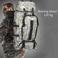 90L Nylon Waterproof Tactical Backpack Tactical Bag Outdoor Military Backpack Bag Sport Camping Hiking Fishing Hunting Bag