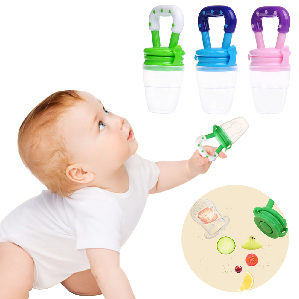 Baby Nipple Pacifier Fresh Food Fruit Milk Nibbler Feeder Kids Pacifier Feeding Safe Baby Supplies Soother Teat Pacifier Bottles