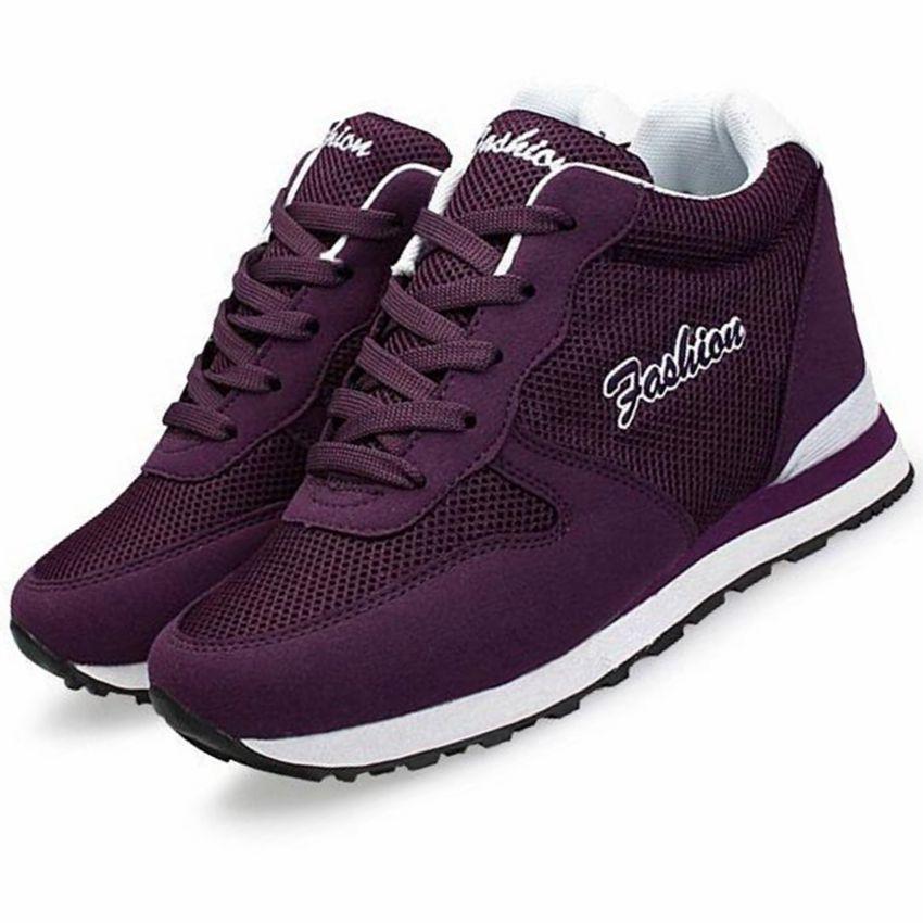 vrouwen hoogte toenemende loopschoenen vrouwen ademend dames meisjes ultralight merk verborgen hakken hardlopen sneakers schoenen vrouwen