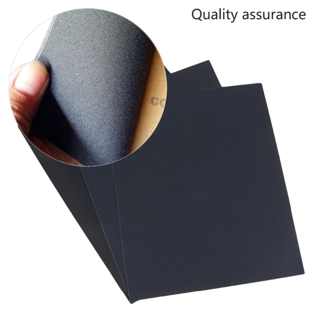 120-1000 Grit Wet Dry Polishing Sandpaper Waterproof Sanding Paper Polishing Cloth Metal Wood Polishing Grinding Tools,10 PCS