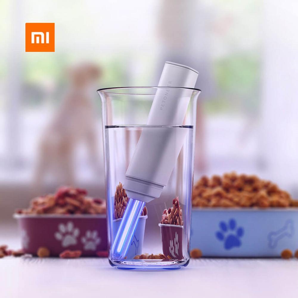 Новый Xiaomi Petoneer холодная Катодная уф стерилизация ручка 253,7 нм очиститель воды ручка перезаряжаемая уничтожает бактерии защита здоровья