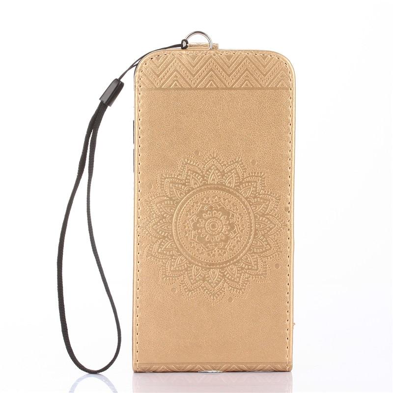 NEW Mandala Vertical Flip Cover Stand Phone Bag for iPhone
