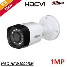 Dahua CCTV Camera 1mp HDCVI Camera 720P IR 20M Outdoor Camera HAC-HFW1000RM HD and SD output Survillance Camera Network