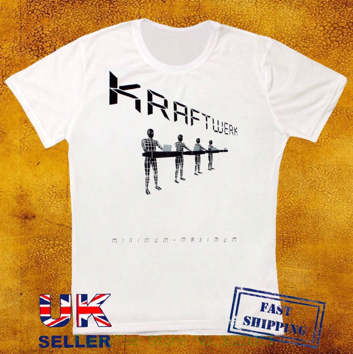 Kraftwerk Minimum Maximum Electronic Krautrock Synth Pop Rock Unisex T Shirt 213