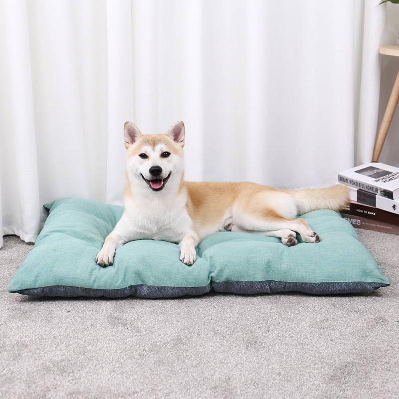 Luxury Pet Dog Cushions Cat Warm Beds House For Large Dogs Mats Breathable Cozy Super Soft Thick Blankets 3 Size Durable Kennels|Houses  Kennels & Pens| |  - title=