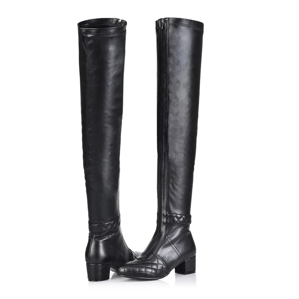 Real Leather Thigh High Boots | Fashion Boots