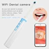 P10 WiFi стоматологическая камера HD интраоральный эндоскоп светодиодный светильник USB кабель осмотр для стоматолога оральный в реальном време...