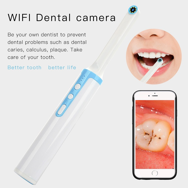 P10 WiFi Dental Camera HD Intraoral Endoscope LED Light USB Cable Inspection For Dentist Oral Real-time Video Dental Tool