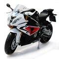 (6 unids/pack) Al Por Mayor 1/12 Escala Moto Juguetes Modelo S1000RR Super-Bike Diecast Metal Modelo de La Motocicleta del Envío libre del Juguete gratis