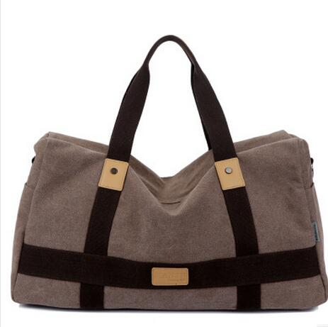 New Arrival Canvas Travel Bag Handbags For Women and Men Large Capacity Portable Shoulder Bags Casual Travel Bags