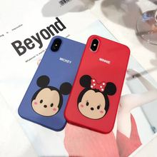 Minnie Mickey Phone Case iPhone 6 6s 7 7 plus 8 X