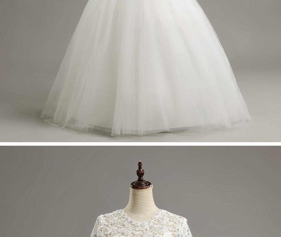 14 LAMYA Custom Size Romantic Lace Wedding Dress 2018 Fashionable Short Bride Gowns Cheap Bridal Dresses vestidos de novia