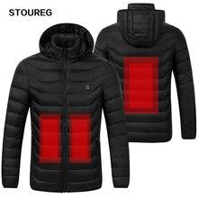 Водонепроницаемые куртки с подогревом, ветрозащитные теплые флисовые куртки унисекс, зимние походные куртки для мужчин и женщин, лыжная одежда, S-3XL