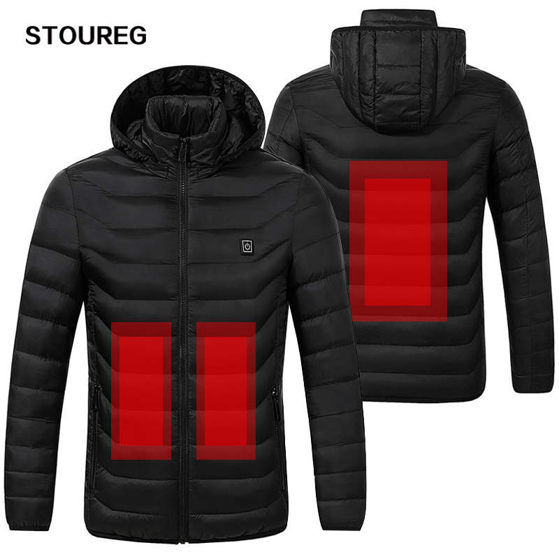 Waterproof Heated Jackets Windproof Heat Fleece Jeakets Unisex Winter Climbing Jackets For Males Ladies Snowboarding Garments S-3Xl