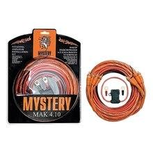 Усилитель MYSTERY MAK 410 (Комплект для 4-х канального усилителя, питание 10GA, ATC 30 А, концевики,стяжка, RCA-кабель-витая пара двойной экран)