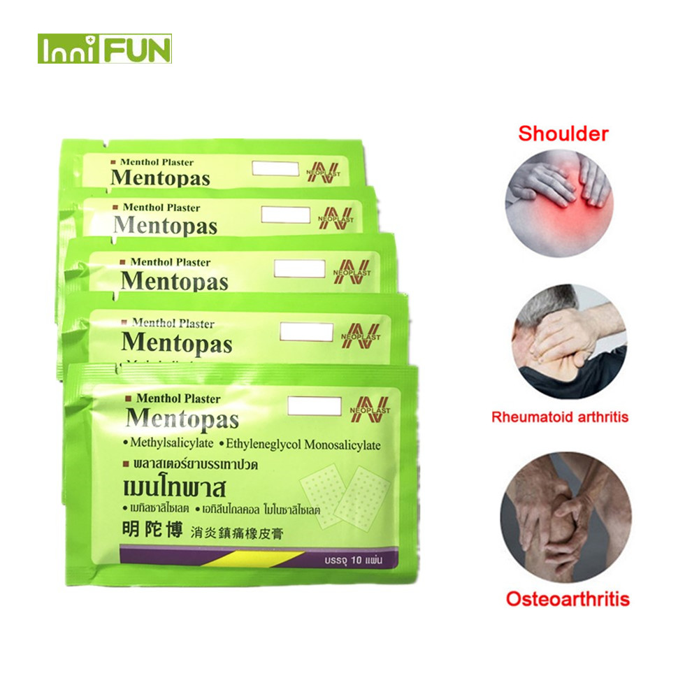 Patches The Cheapest Price 10pcs Aching Pain Relief Herbal Plasters Fatigue Muscle Relieving Patches Knee Injury Arthritis Health Care Product