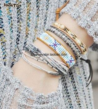 Exclusive Seed Beads Bohemia Weaving Brazilian Bracelet 3