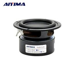 Aiyima 2PCS Tweeter Audio Speaker Portable Stereo Speakers Woofer Full Range Horn 3 inch 4ohm 8 ohm 25W Loudspeaker