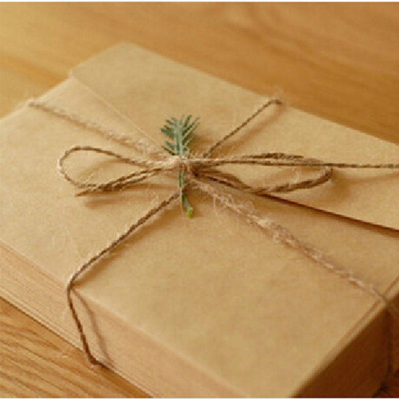 50PCS/lot  Simple Vintage Kraft paper envelope  wedding Students diy handmade gift envelope 160*110mm school and office supplier