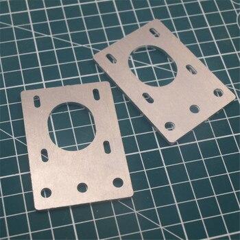 Stop aluminium 1 sztuka 42 name17 krokowy uchwyt na silnik płyta metalowa regulowana NEMA17 wspornik silnika dla 2020 2040 profil aluminiowy
