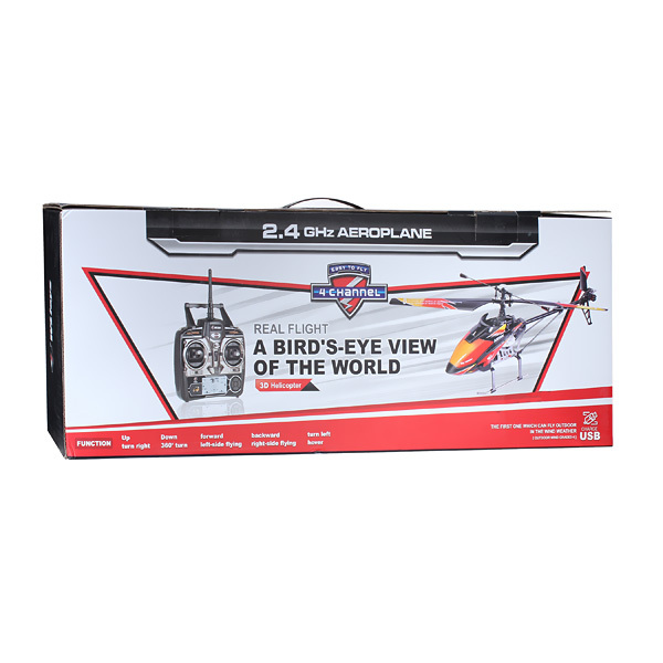 WLtoys V913 Brushless Version 2.4G 4CH RC Helicopter RTF