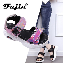 Fujin Sandals Female Super Fire Ins Tide Dropshipping 2019 S