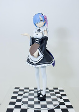 Anime Figure Re: La Vie dans un monde différent de zéro Rem Ménage ver. Action PVC Figure Collection Modèle jouets Poupée 17 cm