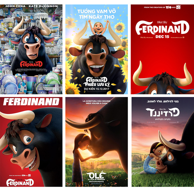 anime ferdinand posters high definition home decoration wall