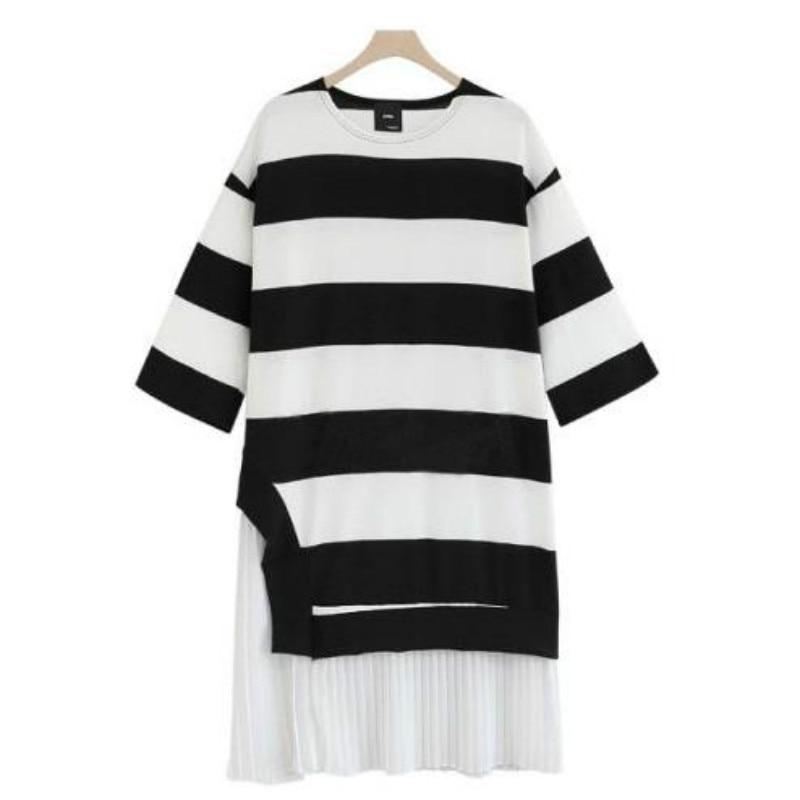ᐂPrimavera otoño maternidad ropa de gran tamaño mujeres Stripe knit ...