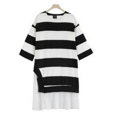 Spring autumn font b maternity b font font b clothes b font Large size womens stripe