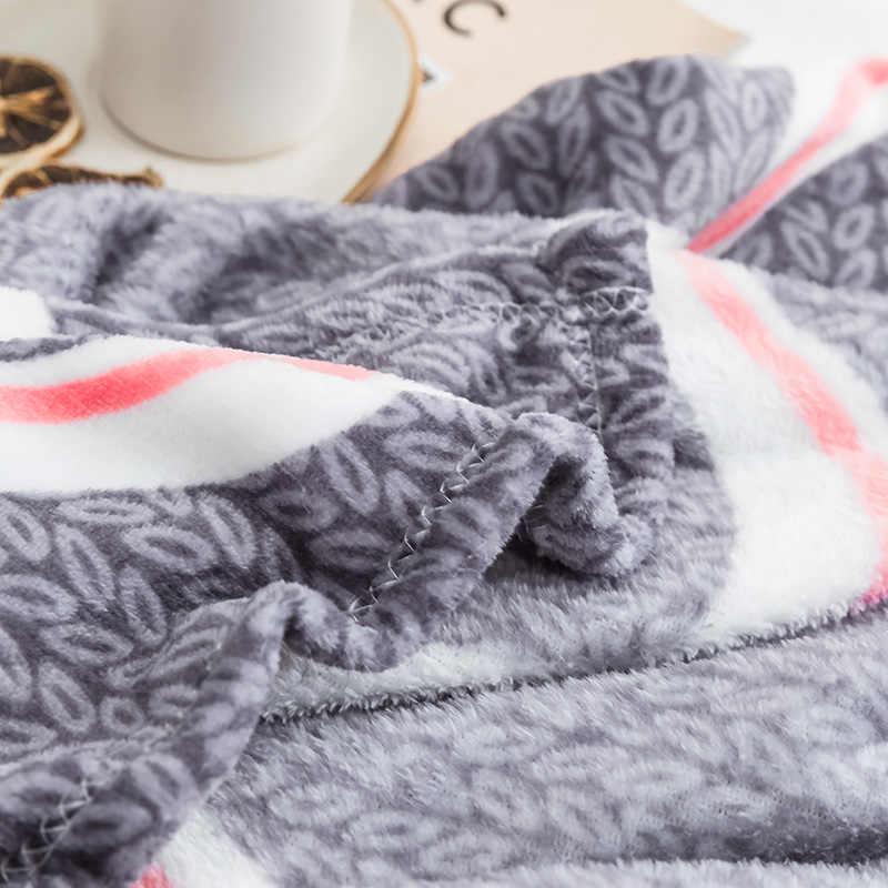 LREA классический воды пульсация кораллового флиса пледы покрывала одеяло для кроватей зима дома текстильные украшения для детей или взрослых
