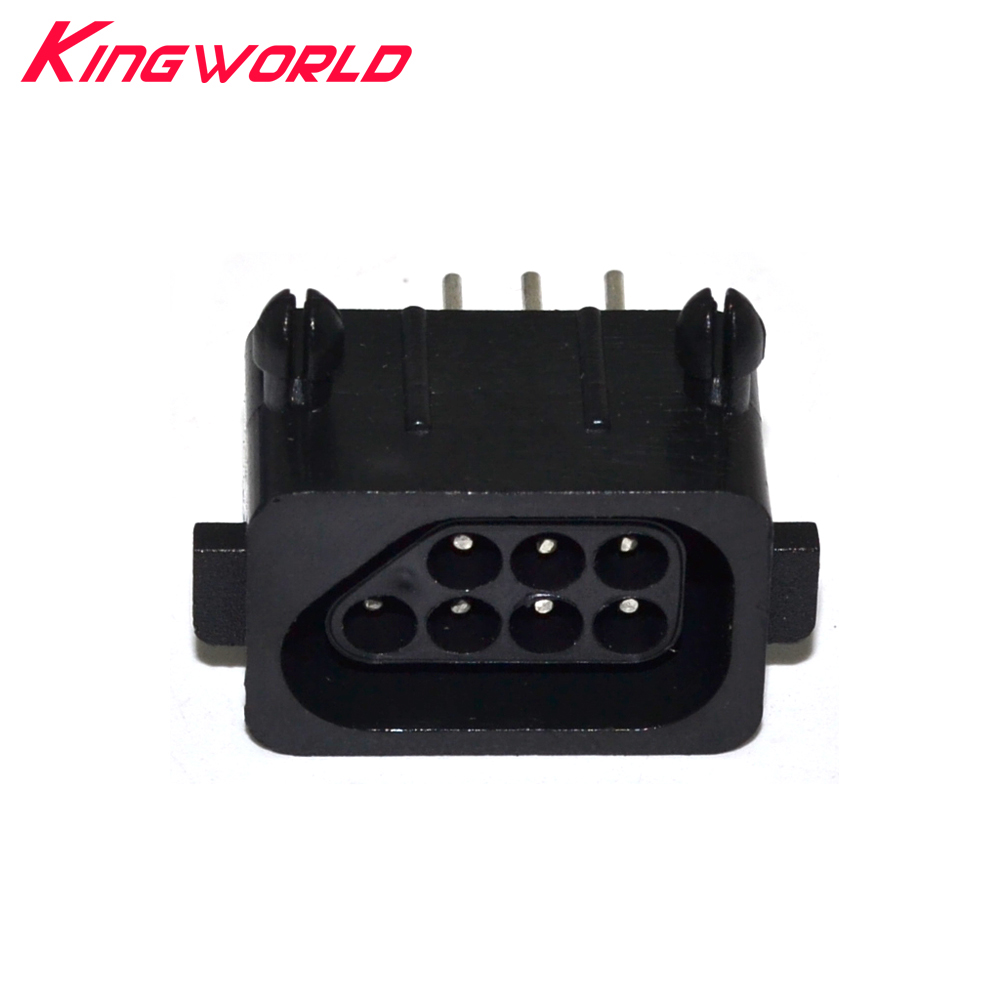 Hight Quality Replacement Parts 180 Degree 7 Pin Connector Female For Nitendo For NES Console Socket