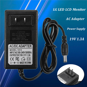 Image 5 - LEORY LED Monitor 19 V 1.3A AC Adapter Voeding Voor ADS 25FSG 19 ADS 40FSG 19 Voor LG LED LCD Monitor US Plug power Charger