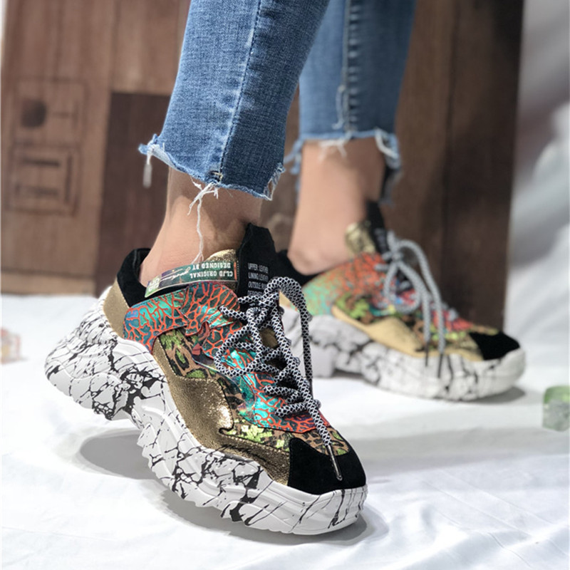 as Dentelle Automne Pic Dames Femme Haute Zapatos forme Sneakers Plate Cuir Talons De Up Feminino Pic Chaussures Sapato En Mujer As Femmes fRqFBzcxw