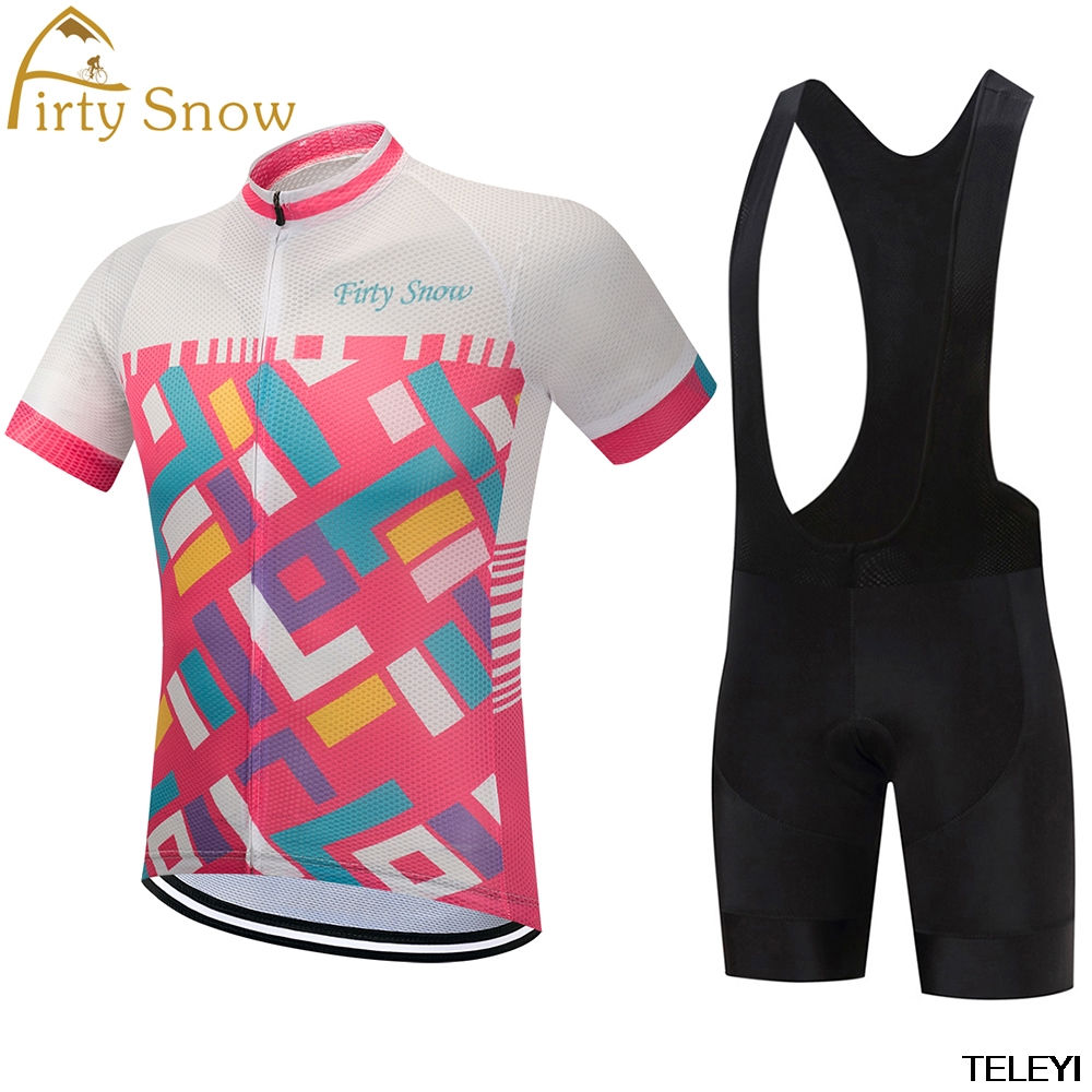 NEW  Team Firty snow Cycling Jersey Sets MTB Bike Bicycle Breathable shorts Clothing Ropa Ciclismo Bicicleta Maillot Suit 2017 pro team cycling jersey bibs shorts set mtb bicycle clothing full sets ropa maillot ciclismo bike wear suit for bicycle men